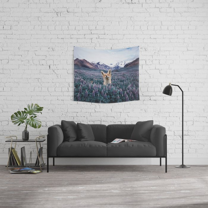 why do you love nature? Wall Tapestry