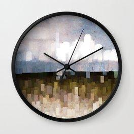Weather Phenomena Wall Clock
