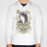 occult Hoodies featuring Occult beauty by Tshirt-Factory