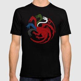 Fantastic Heraldry: Chromatic Dragon T-shirt