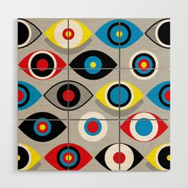 Eye on the Target Wood Wall Art
