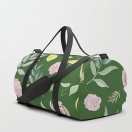 Simple and stylized flowers 9 Duffle Bag