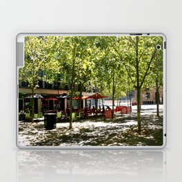 Street Cafes Laptop & iPad Skin