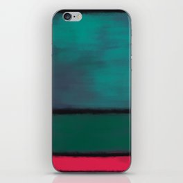 Rothko Inspired #8 iPhone Skin