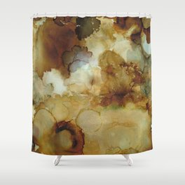 Alcohol Ink 'The Storybook Series: The Little Match Girl' Shower Curtain
