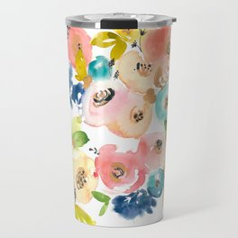 Floral POP #1 Travel Mug