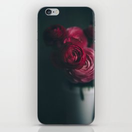 Red Ranunculus iPhone Skin