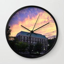 Hughes Hall at Fordham University - Rose Hill Wall Clock