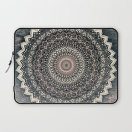 WARM WINTER MANDALA Laptop Sleeve