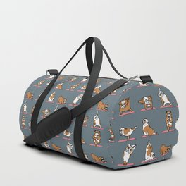 English Bulldog Yoga Duffle Bag