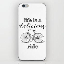 Delicious Ride iPhone Skin