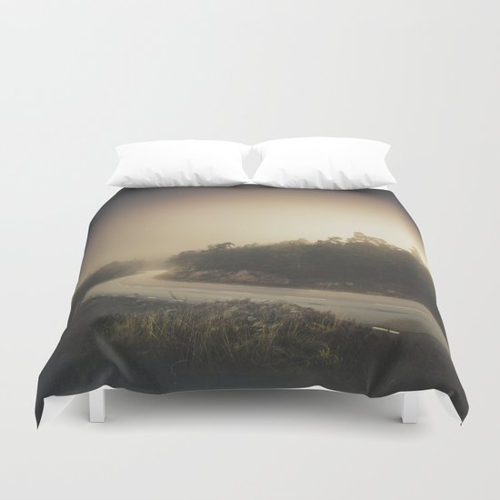 The roads we travel Duvet Cover