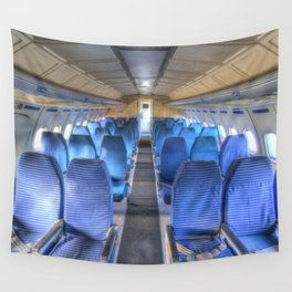 Russian Airliner Seating Wall Tapestry