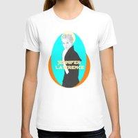 jennifer lawrence T-shirts featuring Jennifer Lawrence (Star Wars Concept Art) by Rene Alberto