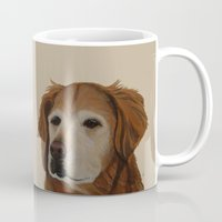 shadow Mugs featuring Shadow by Ginny M
