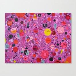 My Ruby World Canvas Print