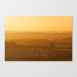 Wilmington Sunset Canvas Print