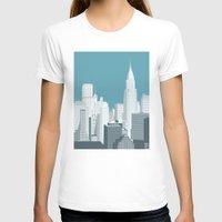 manhattan T-shirts featuring Manhattan by mauromod