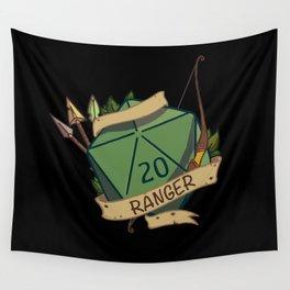 Ranger D20 Fantasy Dice Wall Tapestry