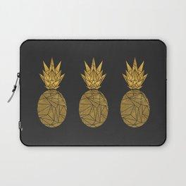Bullion Rays Pineapple Laptop Sleeve
