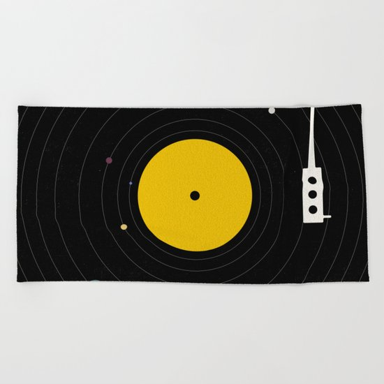 Music, Everywhere Beach Towel