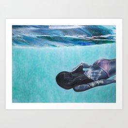 Underwater Ocean Series #1 Art Print