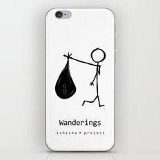 WANDERINGS by ISHISHA PROJECT iPhone Skin