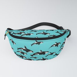 Orca Whales Marine Wildlife Paattern Fanny Pack