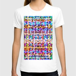 Multicolored lamp shades T-shirt