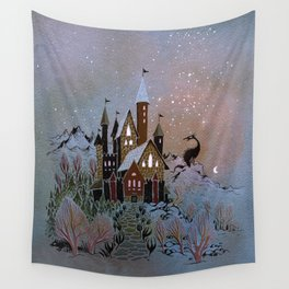 Magic Castle Wall Tapestry