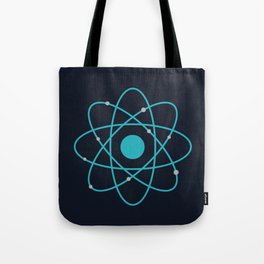 Atom, Molecules, DNA, Science decor, science class Tote Bag