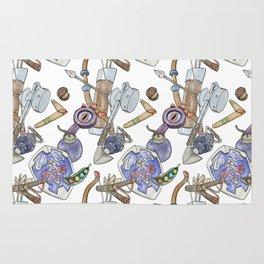 Ocarina Patterns Rug