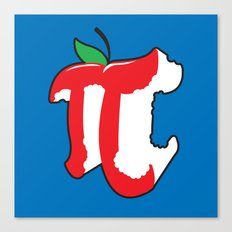 Apple Pi Canvas Print