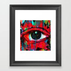 Useless Eyes Framed Art Print