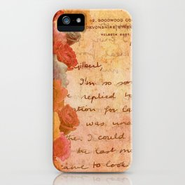 The Lonely Rose Garden iPhone Case