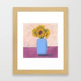 Sunny Surprise Framed Art Print