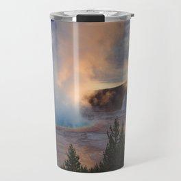 Grand Prismatic Spring, Yellowstone Travel Mug
