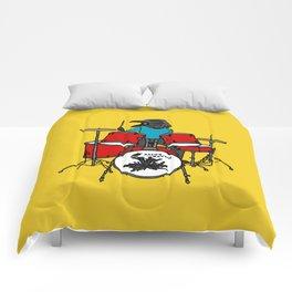 Salty Raven Drummer from Flock of Gerrys Comforters