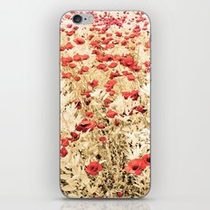 Field of Blooms iPhone & iPod Skin