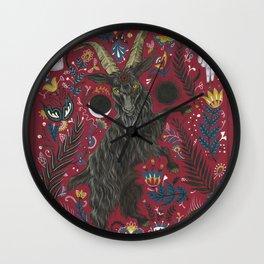 Black Phillip Wall Clock