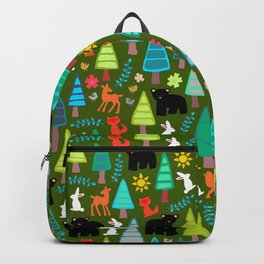 black bear woodland Backpack