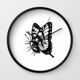 BUTTERFLEYE Wall Clock