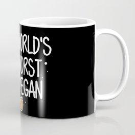 World's Worst Vegan   BBQ Anti Vegan Coffee Mug