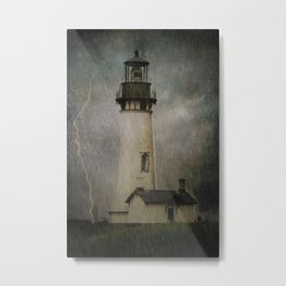 Late Afternoon Storm Metal Print