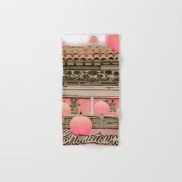 Los Angeles Chinatown Sign Hand & Bath Towel