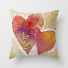 Jenn's Valentine Throw Pillow