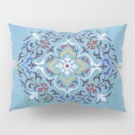 Calligraphy Flower Pillow Sham