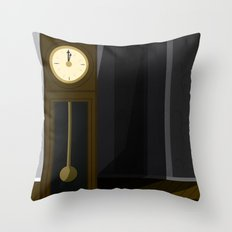 Just After Midnight Throw Pillow
