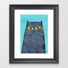 Tabby Framed Art Print