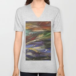 Colors in the Wind Unisex V-Neck